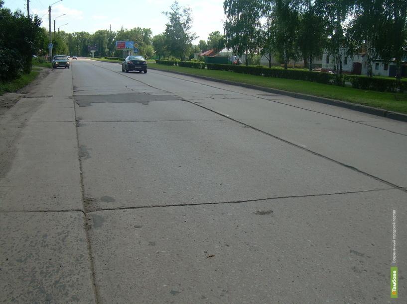 Участок трассы М6, проходящий через Тамбов, отремонтируют за 3 млрд рублей