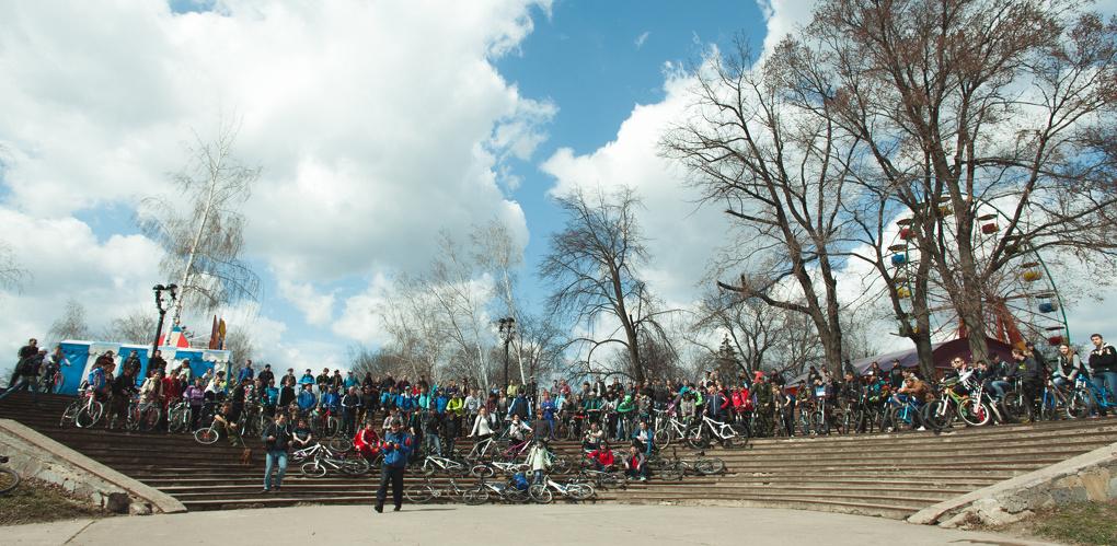 В нашем городе официально открылся велосезон