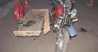 Мотоциклист без прав скрылся с места ДТП