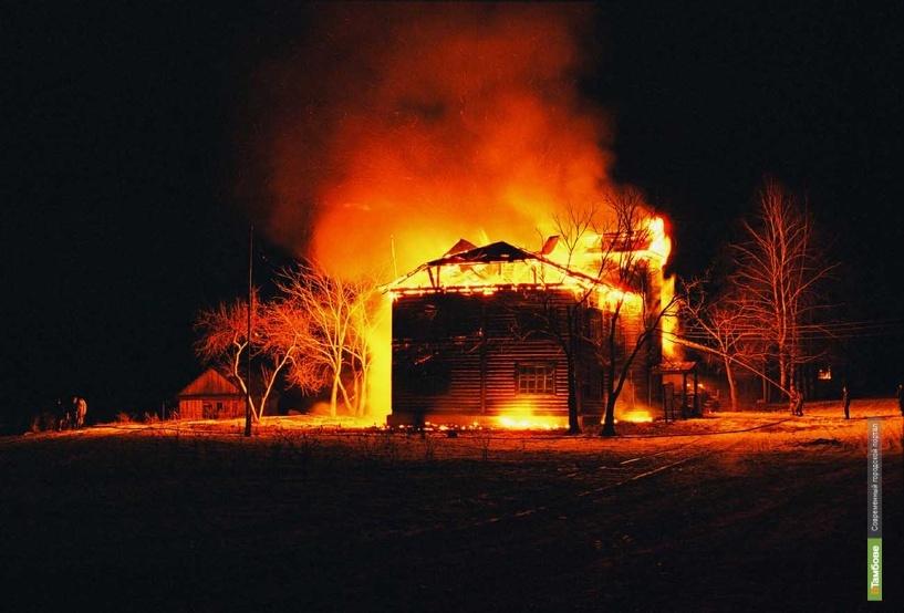 В минувшие выходные в огне погибли трое тамбовчан