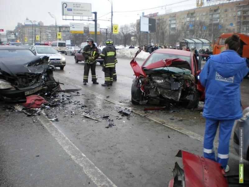 МВД возобновило расследование ДТП на Ленинском проспекте