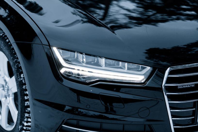 Идеальный шторм: пересиживаем непогоду в обновленном Audi A7