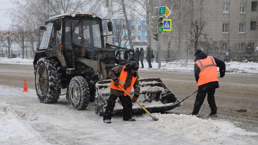 Город замело: только за одну ночь из Тамбова вывезли почти 100 КамАЗов снега