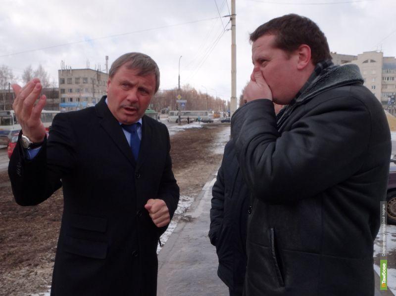 Бобров признал бессмысленность ямочного ремонта в Тамбове