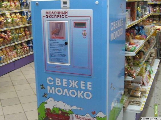 В Тамбове организуют круглосуточную продажу молока из автоматов