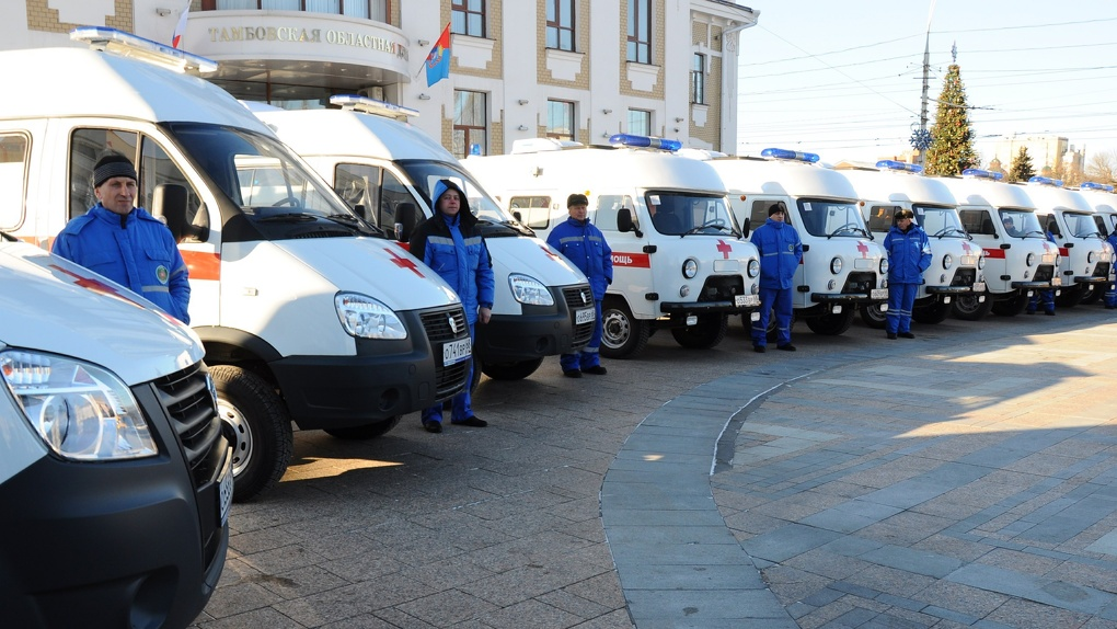 Тамбовская станция скорой помощи получила новый транспорт