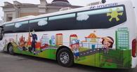 Тамбовские школьники побывали в автобусе-тренажере