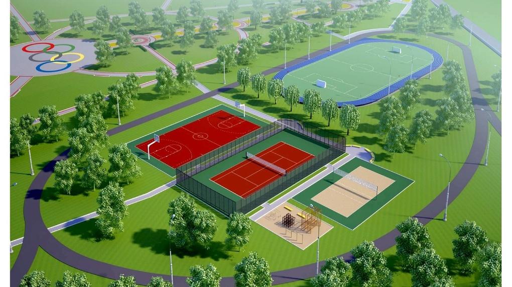 В Тамбове в 2018 году реконструируют Олимпийский парк