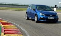 Поле для гольфа: тестируем VW Golf R на гоночном треке Nring