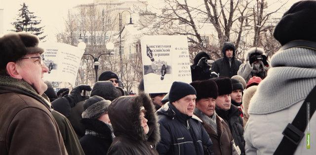 В Тамбове сегодня митинговали в поддержку Юлии Тимошенко