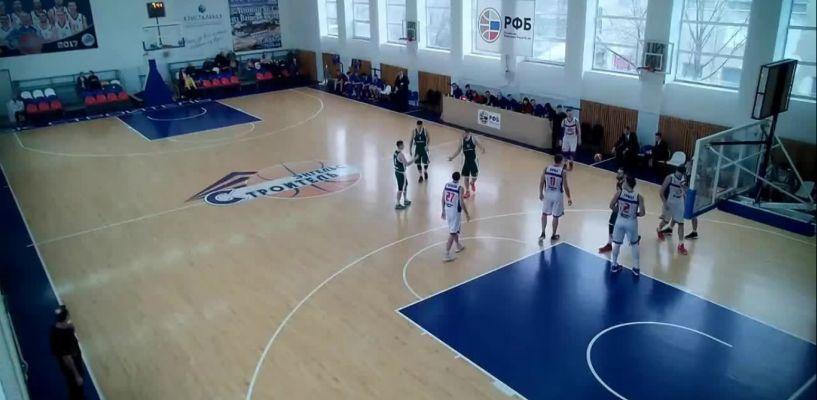 Тамбовские баскетболисты обыграли московскую команду в Энгельсе