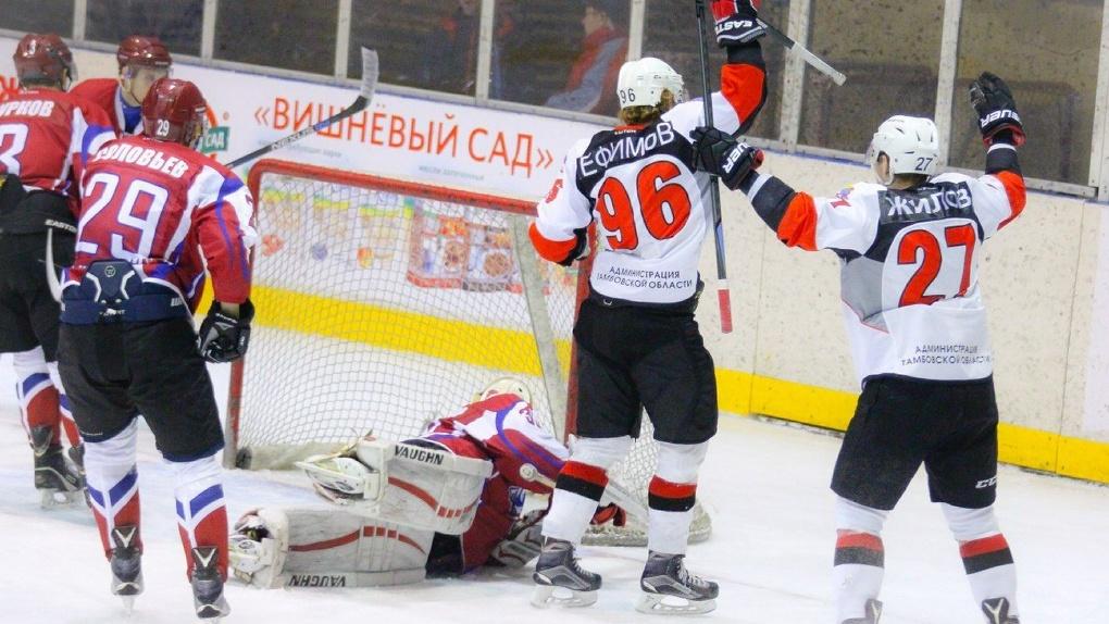 ХК «Тамбов» разгромил барнаульскую команду во втором матче