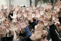 Митингующих юношей будут ждать повестки в военкомат