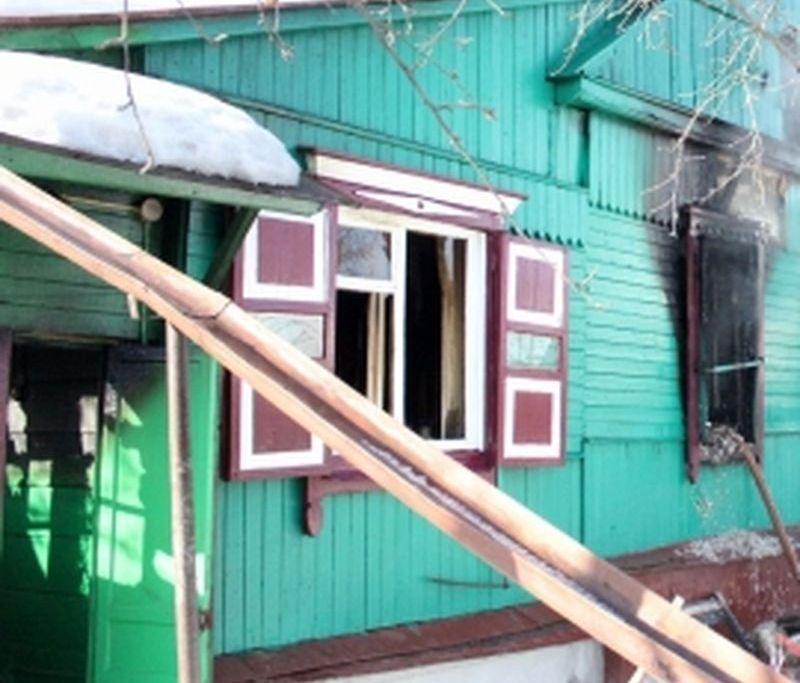 В результате пожара в Бондарском районе погибли двое мужчин