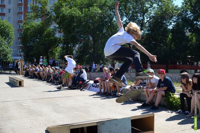 Скейтбордисты Тамбова справили «профессиональный» праздник