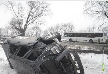 Оренбуржец погиб в ДТП на Тамбовщине