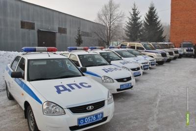 Сотрудники тамбовской полиции получили 23 новых авто