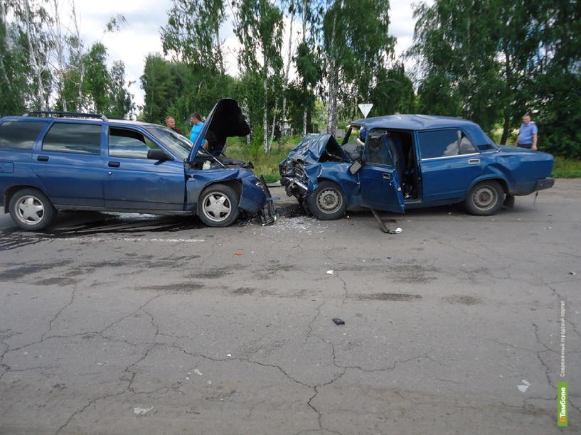 В Гавриловке виновником ДТП стал водитель, ранее лишённый прав