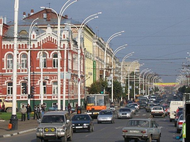 Открытие улицы К.Маркса не решит проблему пробок в Тамбове