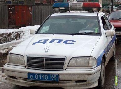 Неизвестный водитель подрезал «десятку» на тамбовской трассе