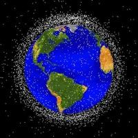 Роскосмос очистит орбиту Земли от мусора