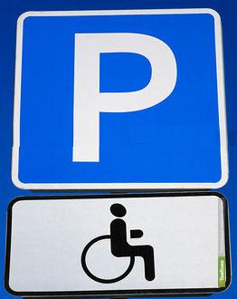 Тамбовские водители занимают на парковке места для инвалидов