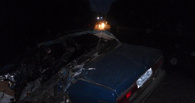 На выезде из Тамбова «семерка» столкнулась с грузовиком