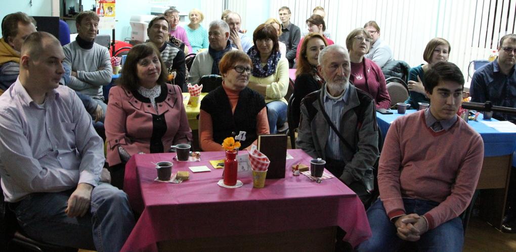 Новая встреча в литературном кафе «Пушкинский чердак»