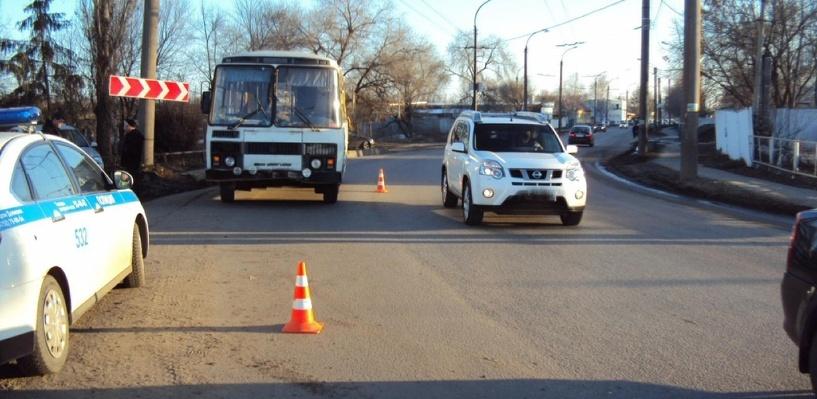 Водитель автобуса сбил женщину в Тамбове