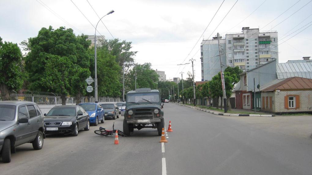 Сбил велосипедиста на перекрёстке: ДТП произошло в Тамбове