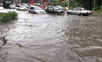 Геленджик утопает из-за обильных дождей