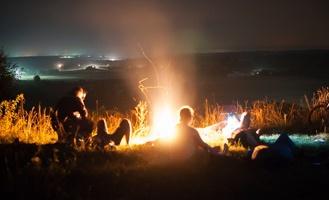Загадай желание: в Тамбове провели велозаезд в самую звездную ночь года