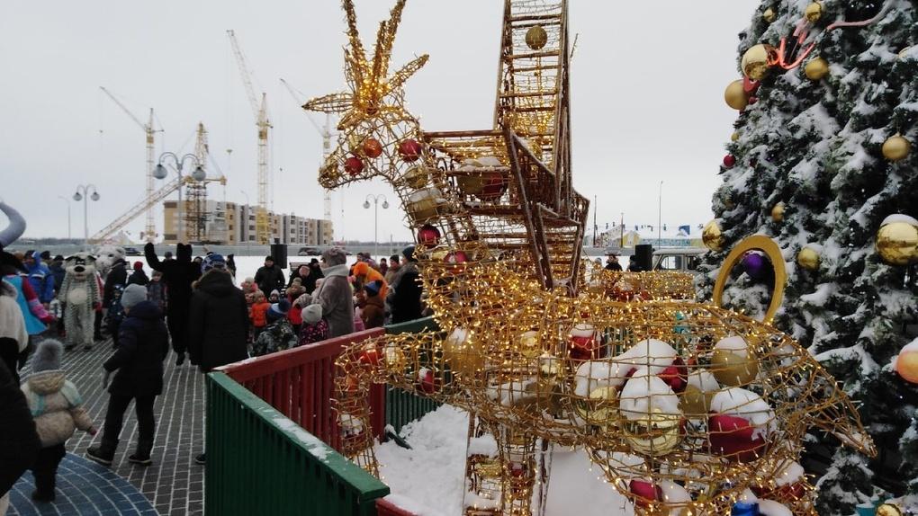 В новогодних мероприятиях в общей сложности приняли участие более 118 тысяч тамбовчан