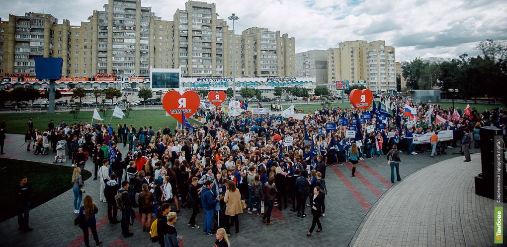 На параде студенчества в Тамбове состоится посвящение первокурсников