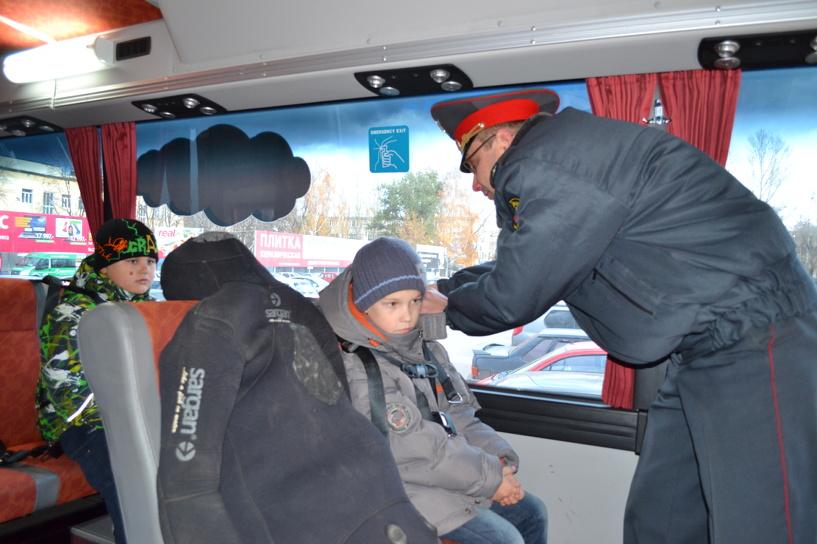Тамбовские автоинспекторы проверят, правильно ли перевозят в машинах маленьких пассажиров