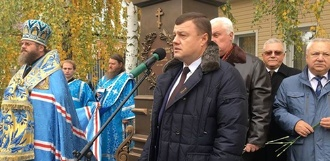 В Тамбове торжественно открыли памятник архиепископу Луке и музей его имени