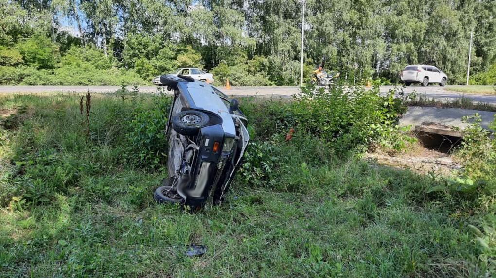 В Моршанском районе «Ока» столкнулась с мотоциклом