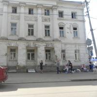 В Тамбове из-за пожара в центре города перекрыли движение
