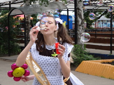 В Тамбове устроят шоу гигантских мыльных пузырей