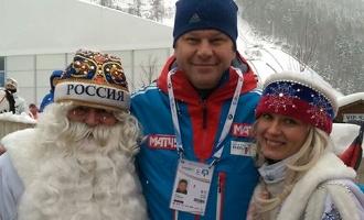 Сосновский Дед Мороз пригласил в гости Дмитрия Губерниева