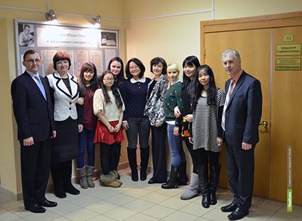 Китайские студенты обучились русскому языку в ТГУ имени Г.Р. Державина