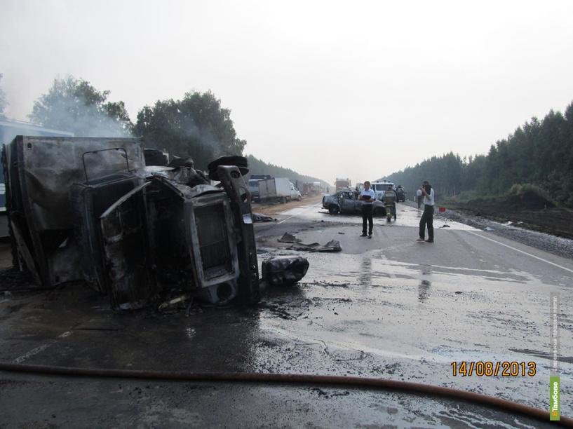 В ДТП в Тамбовской области погибли 2 человека
