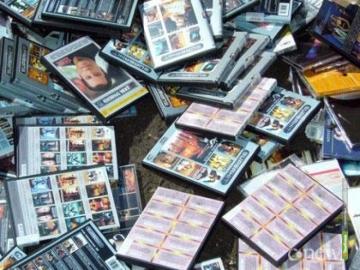 Тамбовские полицейские изъяли партию контрафактных дисков