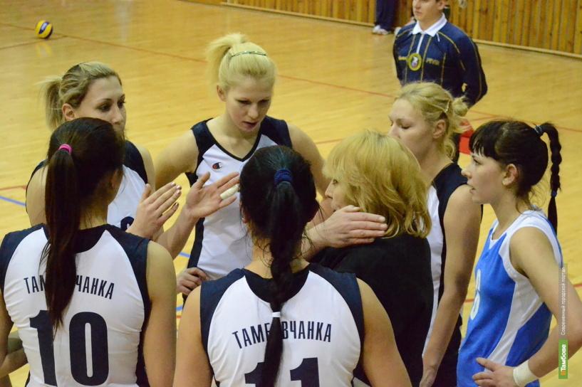 Тамбовские волейболистки проиграли соперницам из Липецка