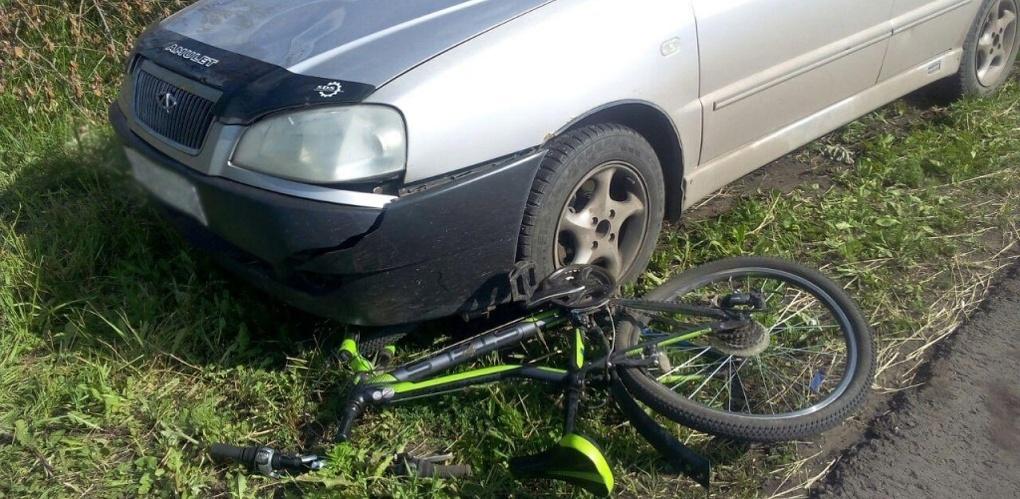 Иномарка сбила подростка на велосипеде