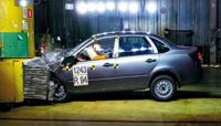 Lada Granta прошла первый краш-тест