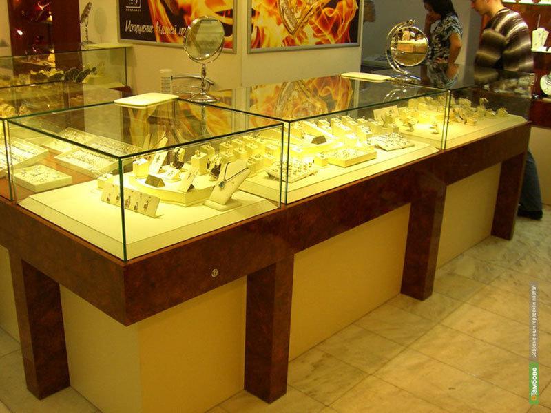 В Тамбове обокрали ювелирный магазин