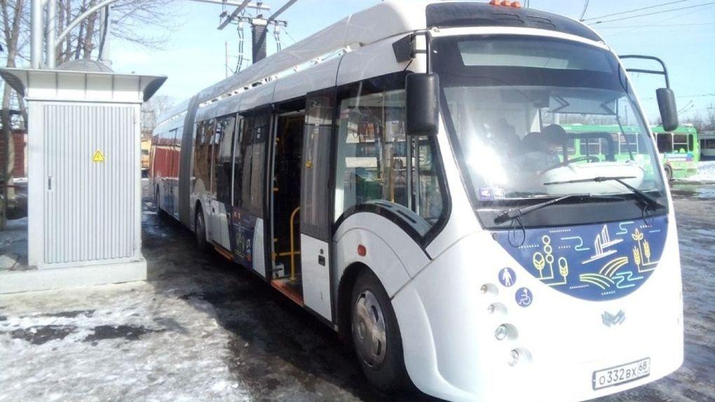 Белорусы забрали свой электробус обратно раньше времени. Тамбов думает о покупке