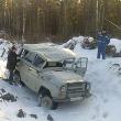 """На тамбовской трассе перевернулся """"УАЗ-3151"""""""