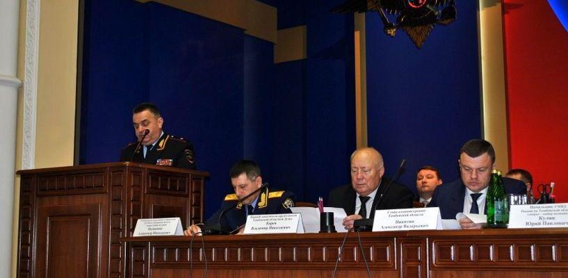 В Тамбовской области уровень преступности ниже, чем в других регионах ЦФО